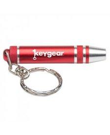 UST Keychain Screw Driver Set Red
