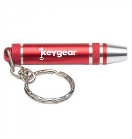UST UST Keychain Screw Driver Set Red