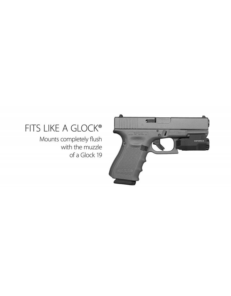 Inforce INFORCE APLc GLOCK 400 Lumen Pistol Light ...
