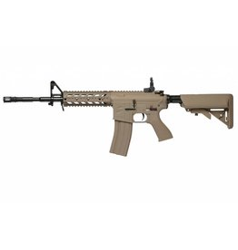 G&G Desert Tan G&G Combat Machine Raider - Long Barrel Version