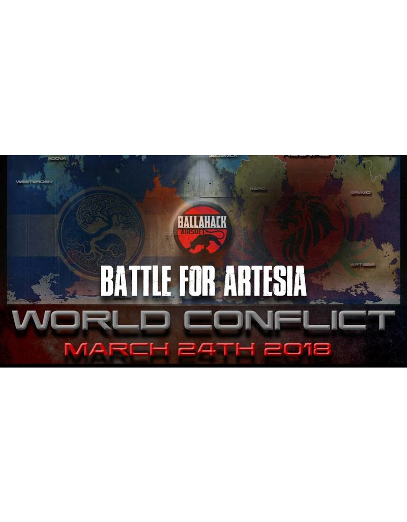 Ballahack World Conflict: March 24th