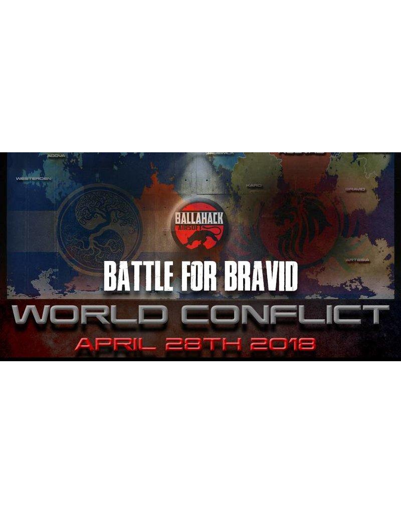 Ballahack World Conflict: April 28th