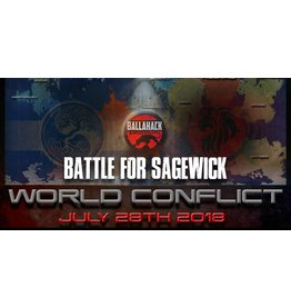 Ballahack World Conflict: July 28th (Electronic Ticket)