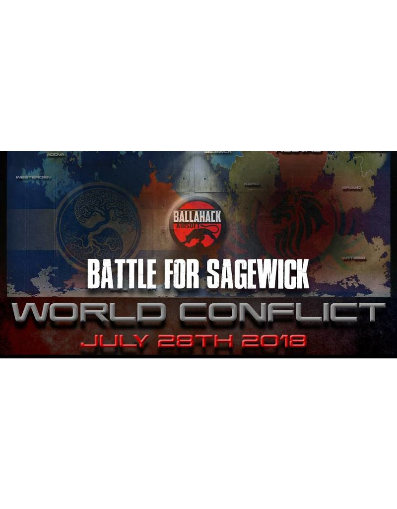 Ballahack World Conflict: July 28th