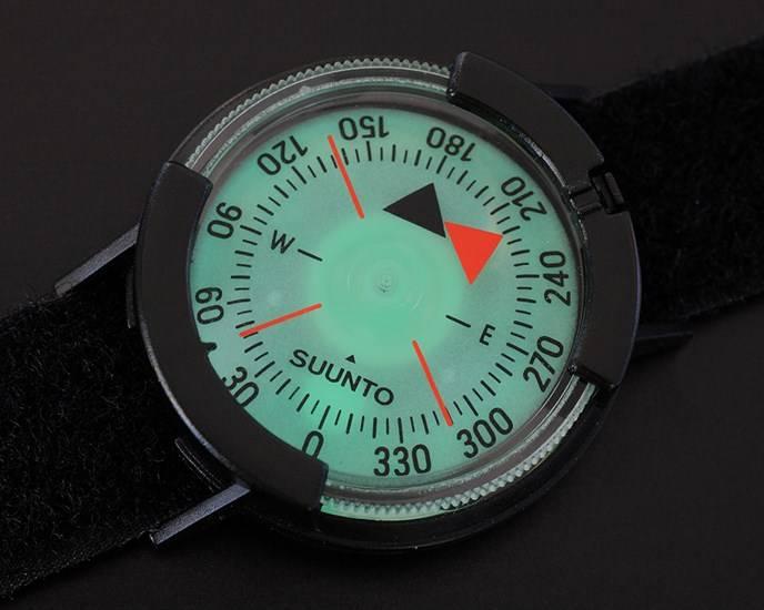 Suunto Suunto M9 NH Compass w/ Velcro Strap Black