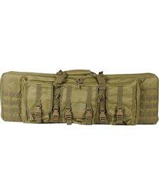 """Valken Tactical 36"""" Double Rifle Gun Bag Tan"""