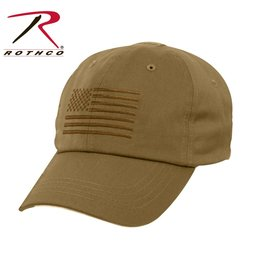 Rothco Rothco Operator Cap Coyote Brown w/Flag