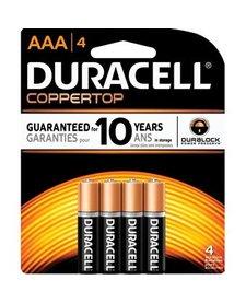 Duracell AAA 4pk
