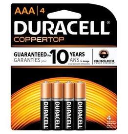 Duracell Duracell AAA 4pk