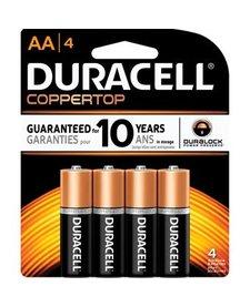 Duracell CPRT AA 4PK