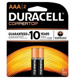 Duracell Duraell CPRT AAA 2PK