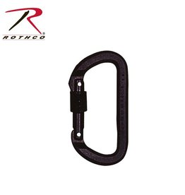 Omega Pacific Omega Pacific Locking D Carabiner BLK