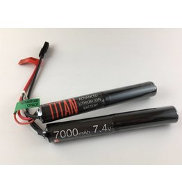 Titan Power Titan Power 7.4V 7000 mAh Li-Ion Nunchuck Battery Tamiya