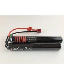 Titan Power 7.4V 7000 mAh Li-Ion Nunchuck Battery Deans