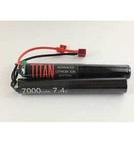 Titan Power Titan Power 7.4V 7000 mAh Li-Ion Nunchuck Battery Deans