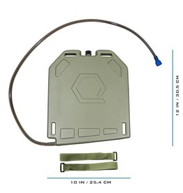 Qore Performance Qore Ice Plate Green
