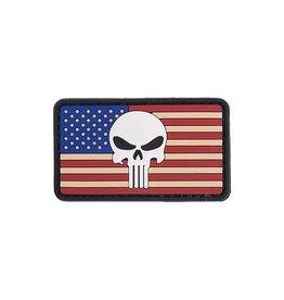 Lancer Tactical Lancer Tactical Punisher US Flag PVC Patch