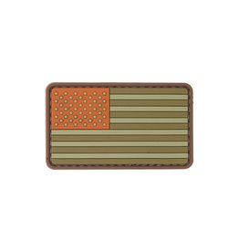 Lancer Tactical Lancer Tactical Brown Town US Flag PVC Patch