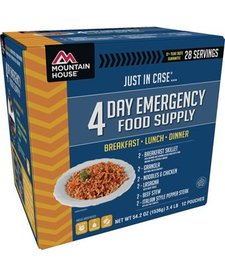Mountain House 4-Day Emergency Food Supply
