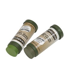 CamCon Camoflage Face Paint 2 Pack Woodland