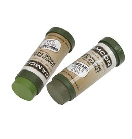Camcon CamCon Camoflage Face Paint 2 Pack Woodland