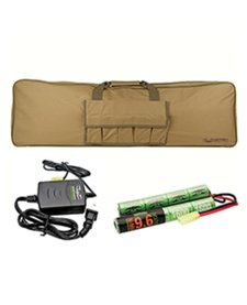 Valken Battery Combo Kit Charger & Gun Bag
