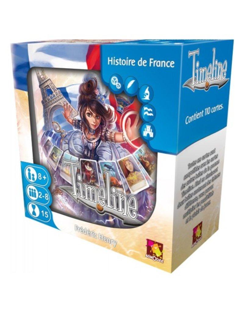 Asmodee Timeline - Histoire de France [français]