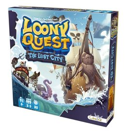 Asmodee Loony Quest : The Lost City [français]