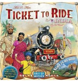 Days of Wonder Aventuriers du rail (les) : Inde & Suisse [multilingue]