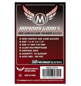 Mayday Games Protecteurs de cartes (43mm x 65mm) - Paquet de 50 [MDG-7079]