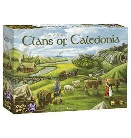 Pixie Games Clans of Caledonia [français]