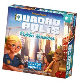 Days of Wonder Quadropolis : Services publics [français]