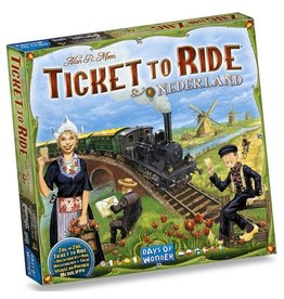 Days of Wonder Aventuriers du rail (les) : Nederland [multilingue]