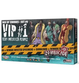 CMON Zombicide : VIP #1 - Box of Zombies - Set #9 [multilingue]