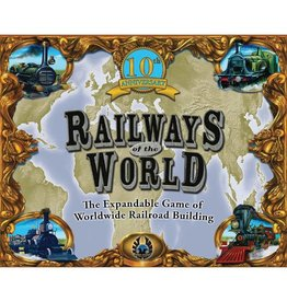 Eagle-Gryphon Games Railways of the World - 10th Anniversary Edition [anglais]