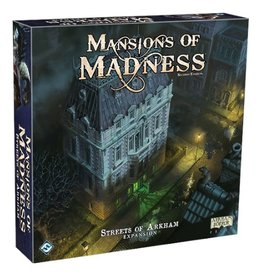 Fantasy Flight Games Mansion of Madness (2nd edition): Streets of Arkham [anglais]