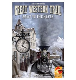 Eggertspiele Great Western Trail : Rails to the North [anglais]