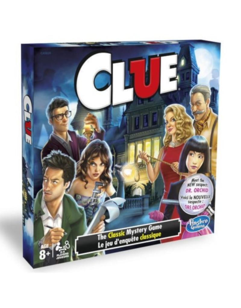 Hasbro Games Clue [multilingue]