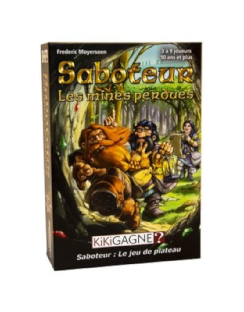 Kikigagne? Saboteur - Les mines perdues [français]