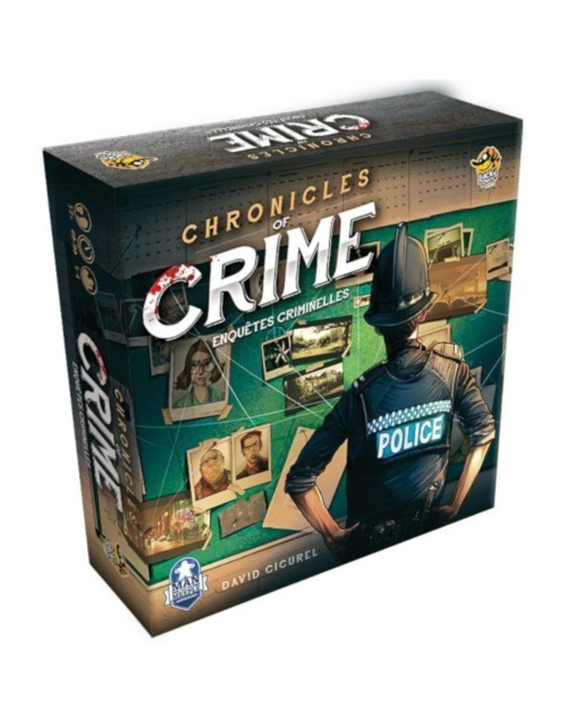 Lucky Duck Games Chronicles of Crime + Lunettes RV [français]