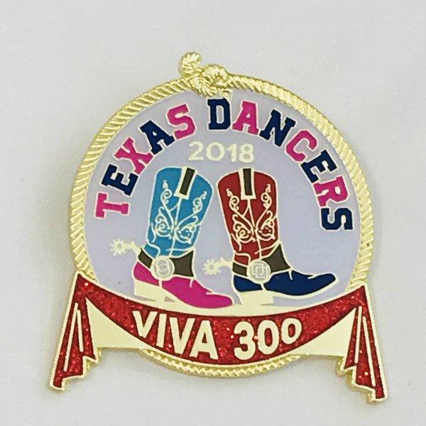 #46A- Alamo Area Square & Round Dance Pin-2018