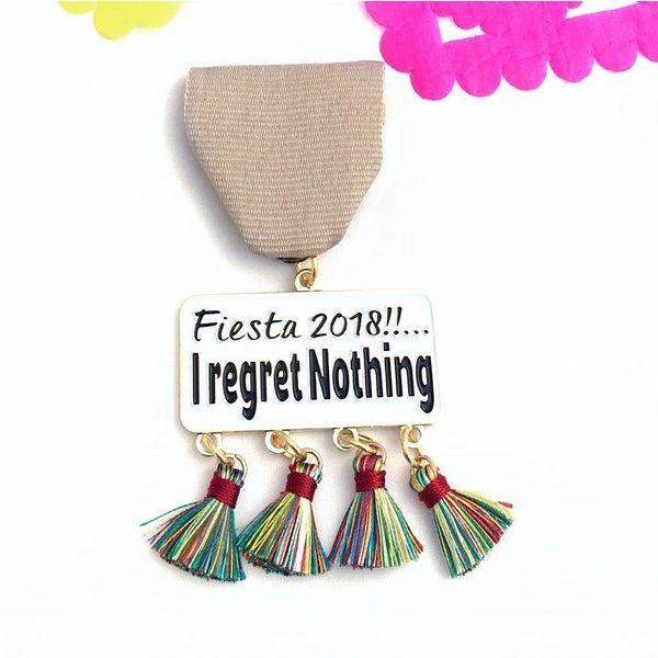 I regret Nothing  Medal