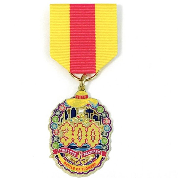 #6 Battle Of Flowers - Event Medal 2018