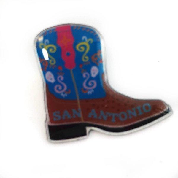 Western Boot Lapel Pin
