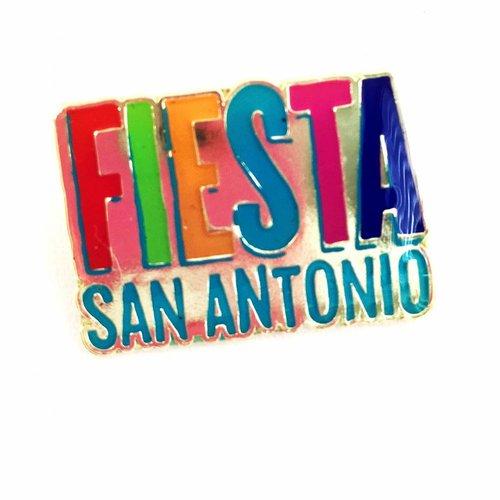 Fiesta Logo Lapel Pin