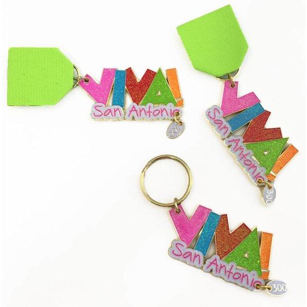Viva San Antonio Medal/Keychain
