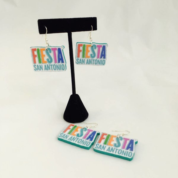 Fiesta Custom LOGO Earrings