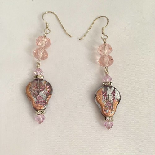 #1716 Sugar Skulls Matte & Color Pink 2018