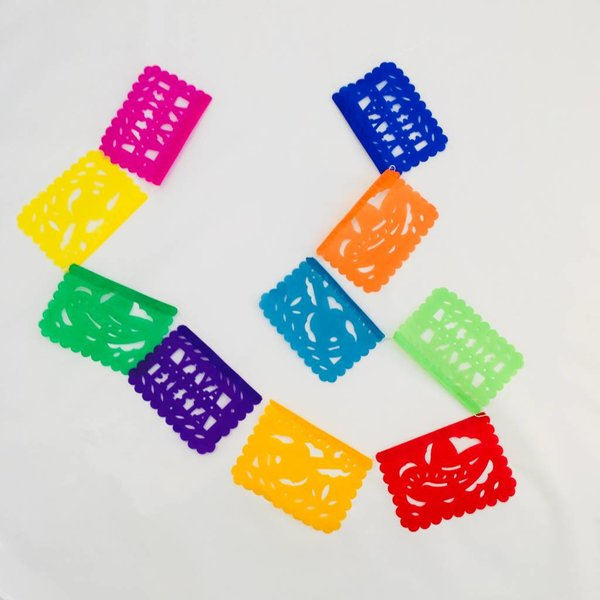 Mini Fiesta Papel Picado-Tissue paper