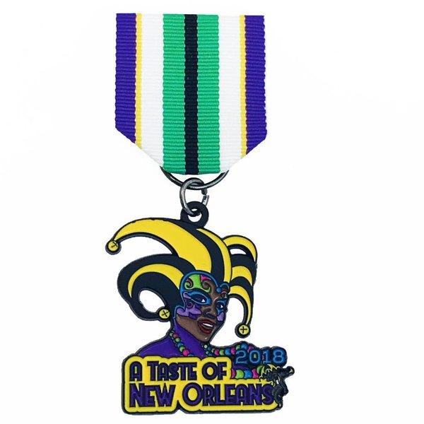 #62B-Saza- A Taste of New Orleans Medal- 2018